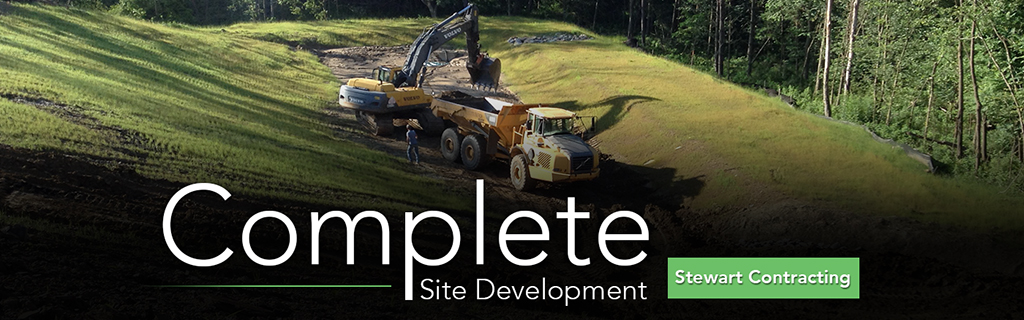 Complete Site Development by Stewart Contracting
